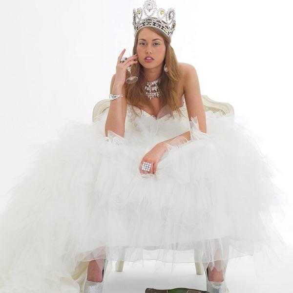 robe de mariée comme une princesse