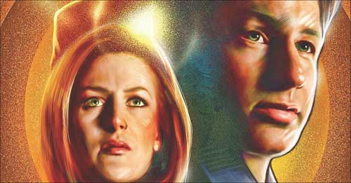 statuettes x-files