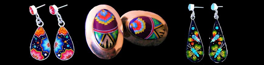 boucle d'oreille amérindienne
